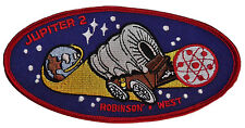 """Lost in Space TV Series Jupiter 2 Large 5"""" Wide Embroidered Patch"""
