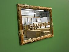 Rustic Log Mirror 35Lx29H - $249 - FREE SHIPPING