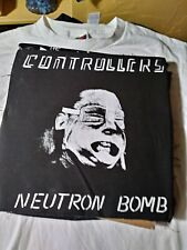 CONTROLLERS neutron bomb punk back patch  limited edition canvas gears x doa