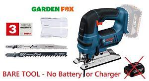 new BARE TOOL Bosch GST18V-Li B Pro Cordless JIGSAW 06015A6100 3165140786973 .