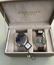 Akribos XXIV Watch Set Ak1063 And Ak1064