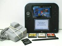 Nintendo 2DS Mario Kart 7 Black/Blue Console + 4GB memory + 3 Games