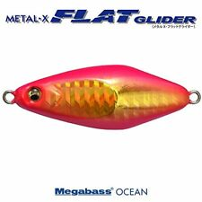 Megabass METAL-X FLAT GLIDER 40 g G Pink gold 34240 NEW,From Japan,free shipping