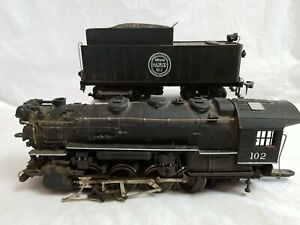 RIVAROSSI O SCALE INDIANA HARBOR BELT 0-8-0 LOCOMOTIVE - ASSEMBLED with MOTOR