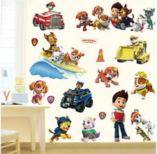 PAW PATROL Kids Boy Girls Bedroom Decal Wall Art Sticker Gift Window New UK