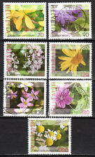 Switzerland - 2003 Definitives flowers -  Mi. 1820-26A (Perf. 14) VFU