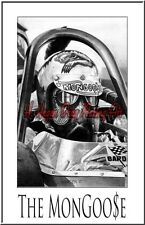 "Drag Racing Art Print of Tom "" The Mongoose "" McEwen.. 13"" x 19"""