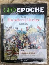 GEO Epoche 111 - Der Hundertjährige Krieg mit DVD
