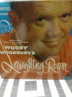 Vintage Original Woody Woodbury's Laughing Room LP Vinyl 1960 M.W. 2 VG+/VG+