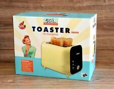 Toaster Vanille Retro Vintage 50s Brötchenaufsatz 800W von GOURMETMAXX *