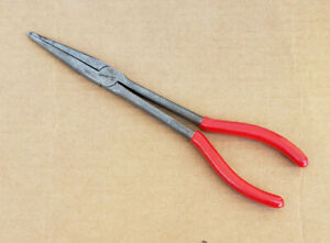 """Snap On 91BCP 11""""  Needle Nose Pliers"""