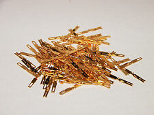 Bag of 100 New Elco EDAC Solder Type Pins for 56 90 120 Gold Pin Connectors