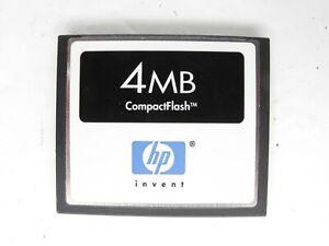 HP Invent Hewlett Packard 4MB MEGABYTE CF Compact Flash Camera Memory Card