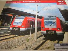 Archiv  Eisenbahnstrecken 999.2 München Laim Petershausen S Bahn