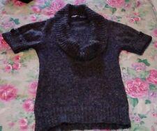 Maglione HFN in lana con manica corta, taglia M, in vari colori, OCCASIONE!!