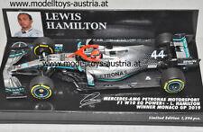 Mercedes W10 EQ Power+ 2019 Lewis HAMILTON Sieger MONACO GP Monte Carlo 1:43 PMA