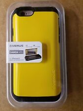 iPhone 6/6S Wallet ID Case Card Slot VERUS Damda Dual Layer Protection (YELLOW)