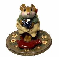 "Wee Forest Folk: ""Christmas Hot Cocoa"" Winter, Collectible, M-269"