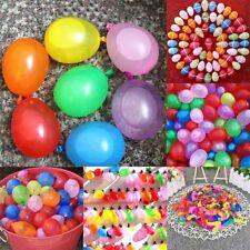 500 Water Balloons Bombs Multi Colour Kids Summer Party Fun Toys Bag #lf Shns