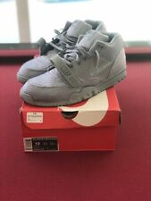 Nike Air Trainer Mid 1 SP QS Monotones Silver Volume 1 635787-009 Size 13