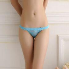 Women Sexy Panties Briefs Sheer Knickers Lingerie Underwear Thongs G-string New
