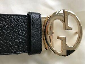 Ladies Gucci reversible belt size 95 cm