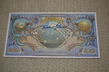 Ron Glass Autographed Alliance Currency Firefly Serenity Shepherd Book
