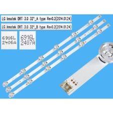 """BARRE STRIP LED LG INNOTEK DRT 3.0 32"""" Rev0.2 6916L-1974A 6916L-1975A 32LB580V"""