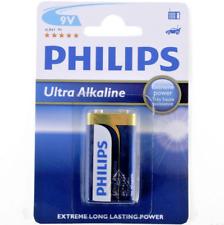 Philips Ultra Alkaline 9V PP3 Battery