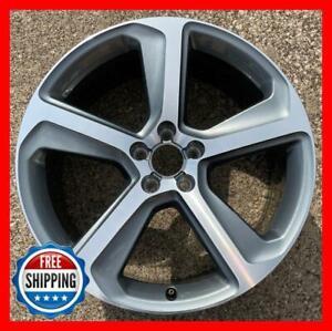 "AUDI Q5 2013-2017 OEM Genuine Factory Wheel 20"" Rim 58929 Grey Machined #A"