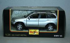 BMW X5 - Maisto SCALA 1:24 die-cast metal