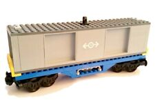 LEGO Train Custom Shipping Container Goods Wagon Carriage For Cargo Trains 60198