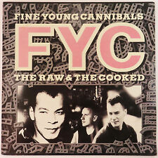 The Raw & The Cooked by Fine Young Cannibals, London Rec 1988 LP Vinyl Record
