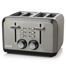 Haden Perth 4 Slice Toaster Wide-Slot Variable Browning Control, Stainless Steel