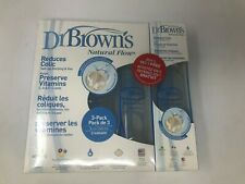New listing Dr Browns Baby Bottles 4 Pack 8 ounce - Natural Flow