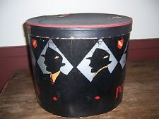VINTAGE PORTIS HATS --- HAT BOX