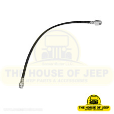 """Rear Brake Hose at Rear Axle18-3/4"""" Long; 1981-1986 Jeep Cj5, Cj7, Cj8 Scramble"""