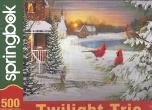 Twilight Trio Springbok Jigsaw Puzzle by Sam Timm NIB