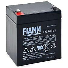 Batteria FG20451 FIAMM Originale 12V 4,5 Ah ricaricabile FG-20451 Batterie