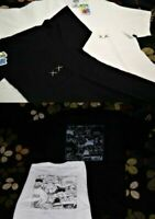 KAWS SESAME STREET X UNIQLO White Black Pocket Tee T shirt XS S M L XL Genuine