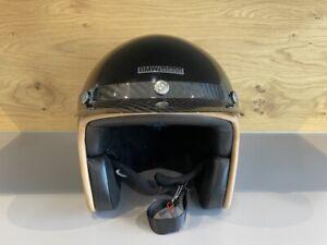 BMW Helm Bowler, Farbe: Darkblue met., Gr. L / 59 + Sonnenschild Carbon