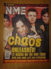 NME 2001 FEB 3 CHAOS ALFIE AMEN JJ72 STARSAILOR OUTKAST
