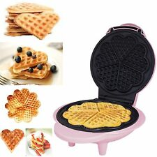 5 Slice Belgian Waffle Maker Iron Machine In Stainless Steel Fun Extra Slices