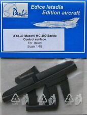 Pavla 1/48 Macchi MC.200 SAETTA surfaces de contrôle # U48037