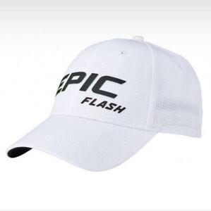 NEW Callaway Epic Flash White/Green/Yellow Adjustable Golf Hat/Cap