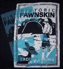 Vintage 90's Trout Fishing Historic Fawnskin California T Shirt XL NWOT