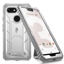 Full Coverage Shockproof Cover Case For Google Pixel 3 XL White