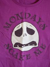 Disney women's Jack Skellington Mondays t-shirt - Small - Nightmare Before Xmas