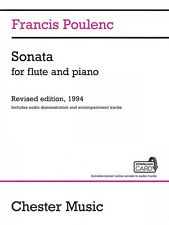 Sonata for Flute and Piano Revised Edition 1994 Audio Edition Book Aud 01404370