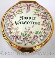 Halcyon Days Enamels St Valentines 2008 New In Box Enamel Box